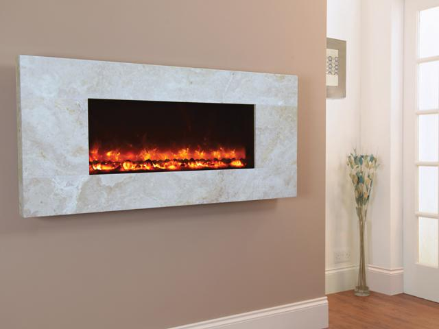 1.5KW Electriflame Travertine 1100 Electric Fire