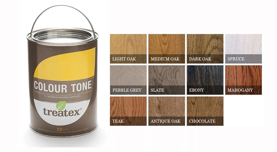 Treatex Hardwax Oils - Colour Tone Oil 1L