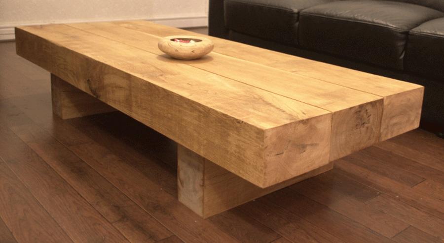 Oak sleeper coffee table buy tables tables online uk for Coffee table uk online