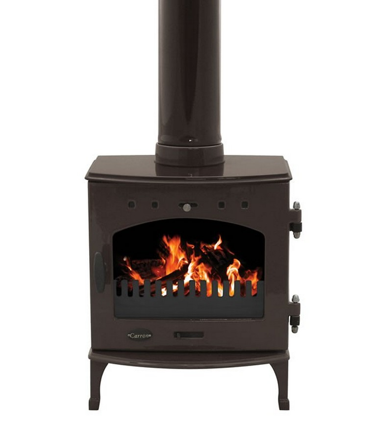 4.7KW Carron Old Penny Enamel Multi Fuel Stove