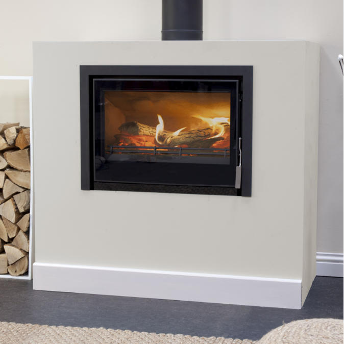 8.7KW Christon 750 Inset SE Woodburning Stove