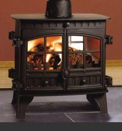 8.9 - 11.5KW Herald 8 Double Sided Woodburning Stove