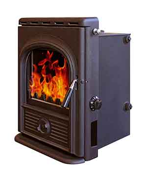 12KW Alpha Multi Fuel Inset Boiler Stove