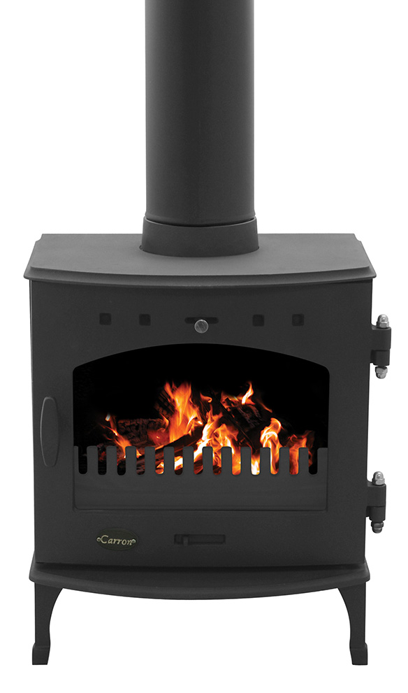 4.7KW Carron Matt Black Multi Fuel Stove