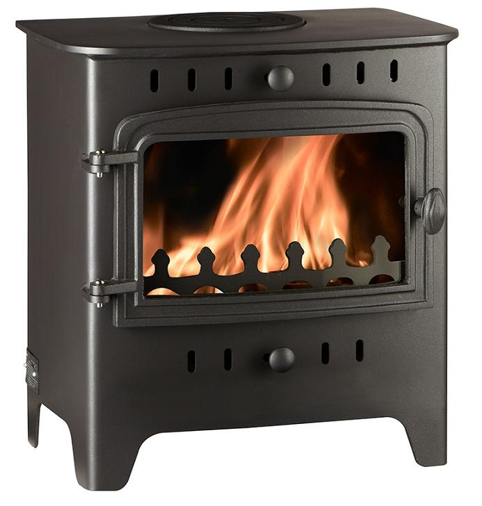 4.9KW Villager C Flat Woodburning Stove