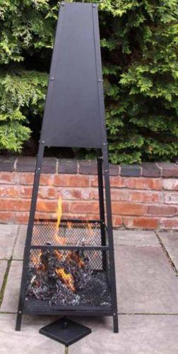 Copan open mesh garden fireplace