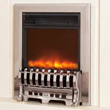 1.8KW Electriflame Insert Royale 16 Inch Silver Electric Fire