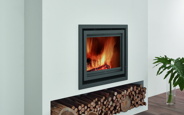 7KW Christon 600 SE Inset Woodburning Stove