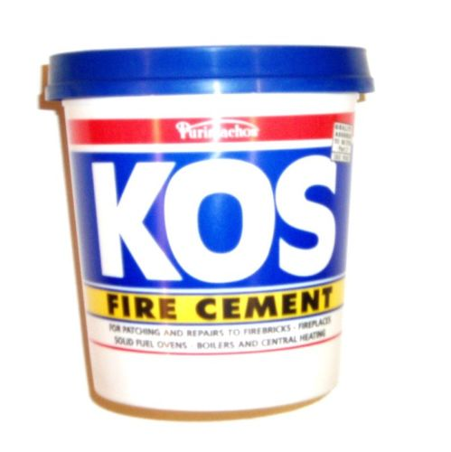 Pot Fire Cement 2kg (Black)