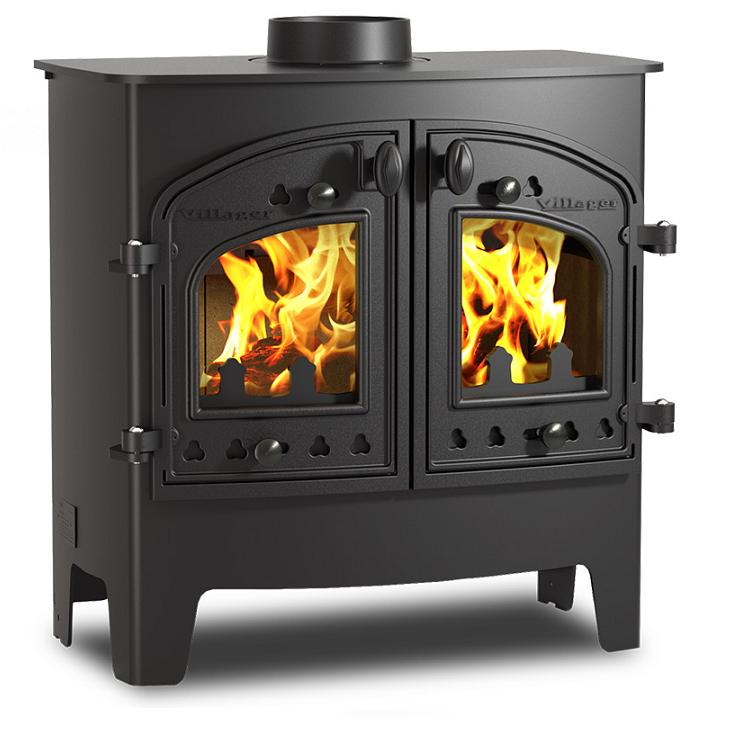 8.3KW Villager Flatmate Woodburning Stove