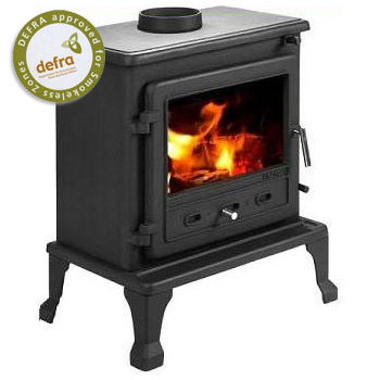 8.4KW Firefox 8 Clean Burn Multi Fuel Stove