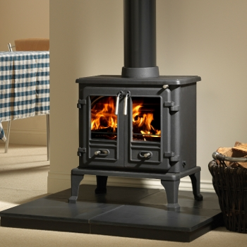8.4KW Firefox 8 Double Door Multi Fuel Stove