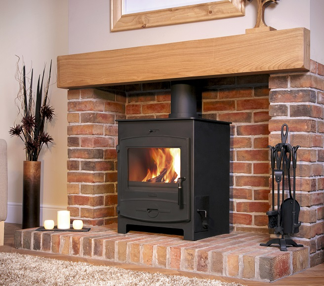 14.8KW Flavel Central Heating Multi Fuel Stove
