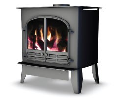 4.8Kw Selene 6D Conventional Flue Gas Stove