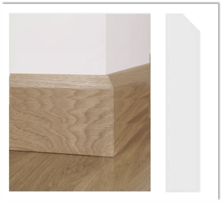European Oak Skirting - Chamfered