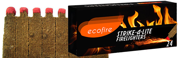 Ecofire Strike A Lite Firelighter Matches