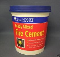 Pot Fire Cement 1kg (Grey)