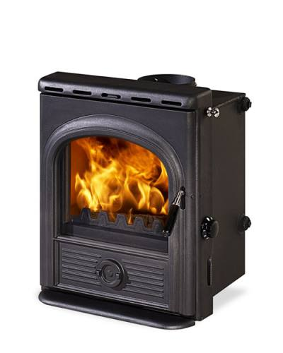 12KW Alpha Inset Multi Fuel Boiler Stove