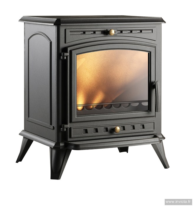 8kW Invicta Altea Woodburning Stove