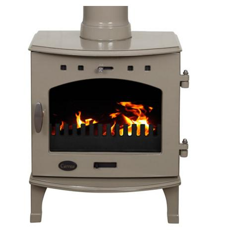 4.7KW Carron Antique Enamel SE Multi Fuel Stove