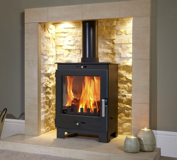 4.9KW Flavel Arundel SE Multi Fuel and Woodburning Stove
