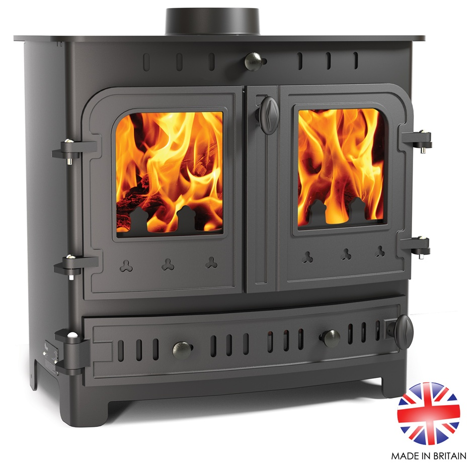 7.5KW Villager Bayswater Multi Fuel Stove