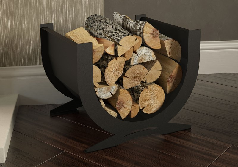 Broseley Curved Log Basket