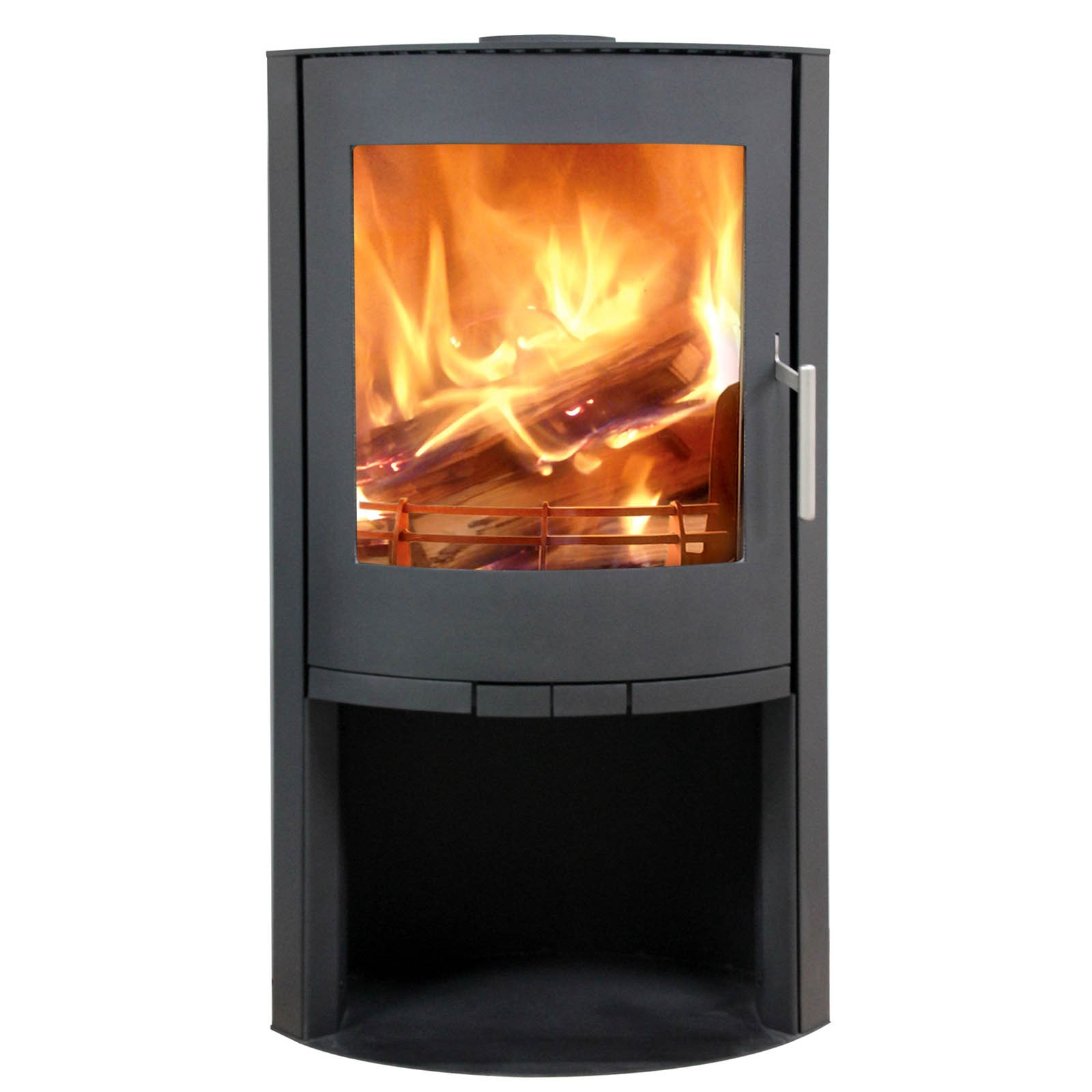 8KW Flair 8 Woodburning Stove with Log Store