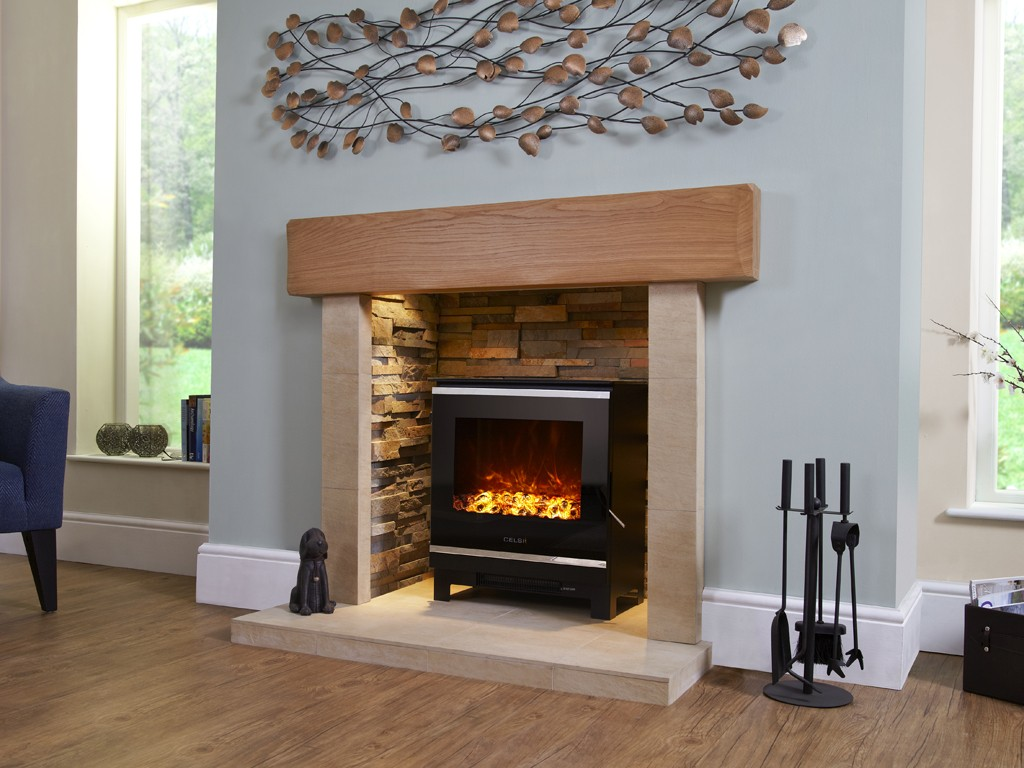 2Kw Celsi Electristove XD Glass 2 Electric Stove