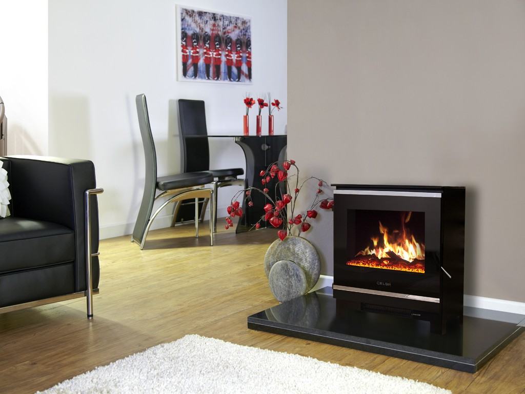 2Kw Celsi Purastove Glass 2 Electric Stove