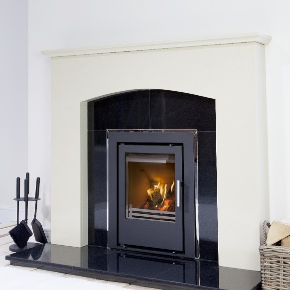 4.3kW Christon 400 SE Inset Multi Fuel Stove