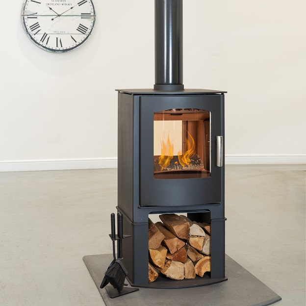 8KW Churchill 8 Double Sided Logstore SE Multi Fuel Stove