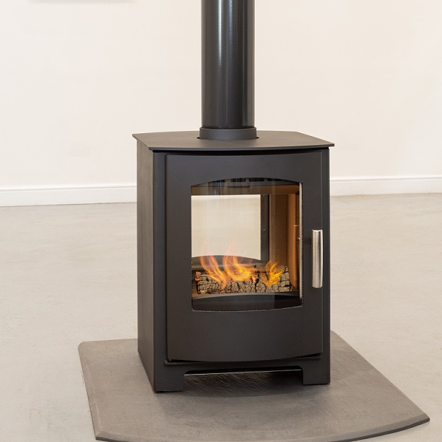 8KW Churchill 8 Double Sided SE Multi Fuel Stove