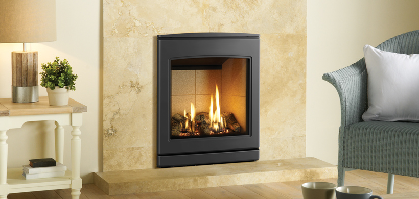 5.1kW CL 530 Inset Conventional Flue Gas Fire