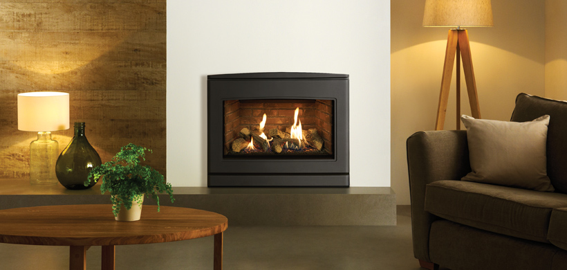 5.1kW CL 670 Inset Conventional Flue Gas Fire