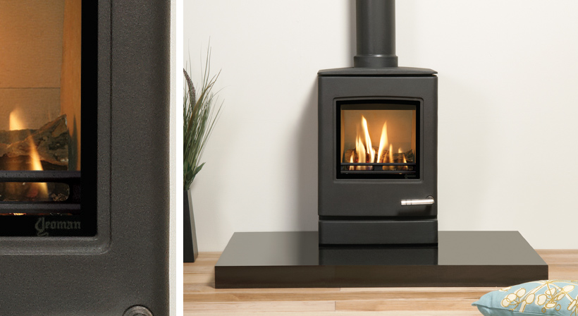 2.6KW CL3 Balanced Flue Gas Stove