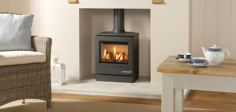 3.4KW CL5 Conventional Flue Gas Stove