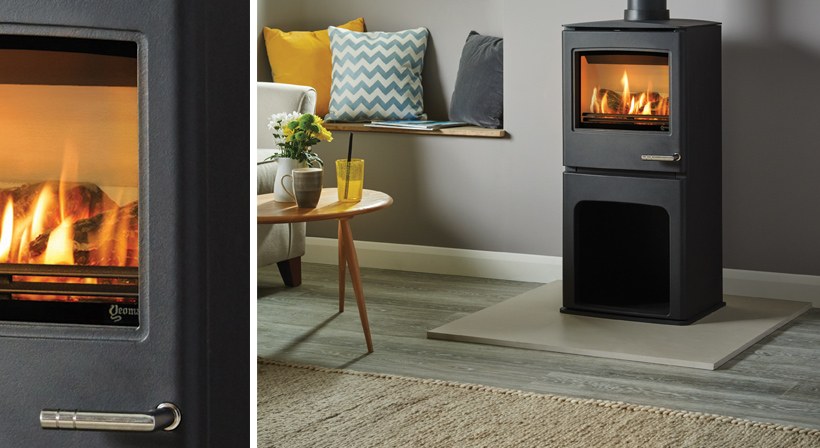 3.4KW CL5 Highline Balanced Flue Gas Stove