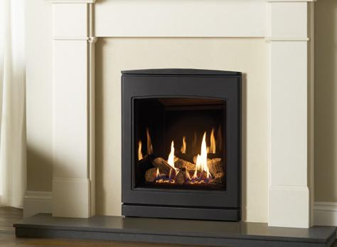 5.5kW CL530 Inset Conventional Flue Gas Fire