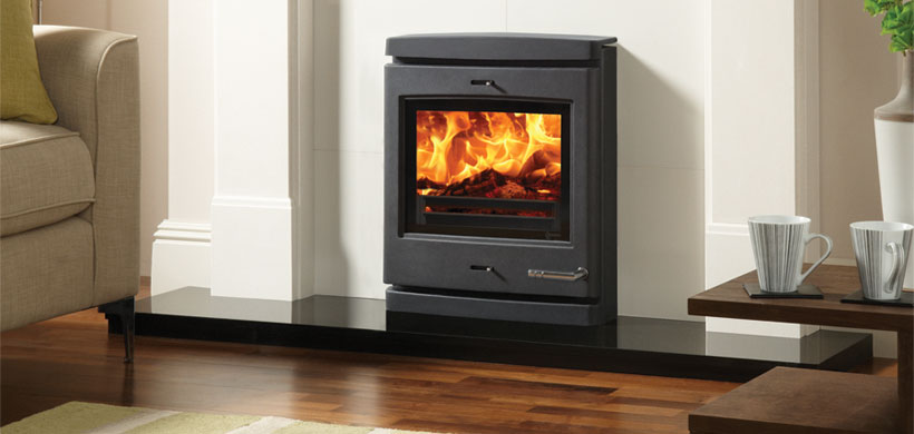 11KW CL7NHB Inset Multi Fuel Boiler Stove