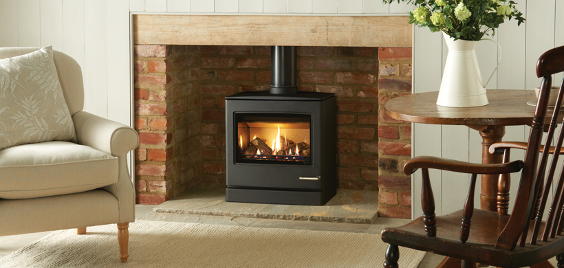 5.5KW CL8 Balanced Flue Gas Stove