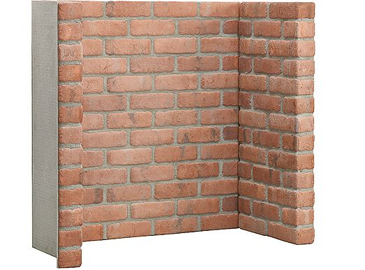 Capital Cobbled Red Brick Chamber with side returns