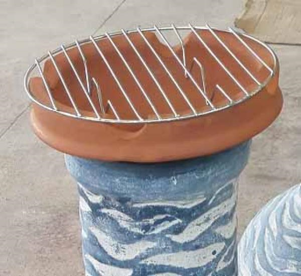 Clay Cooking Crown - Top Plate for Clay Chimeneas