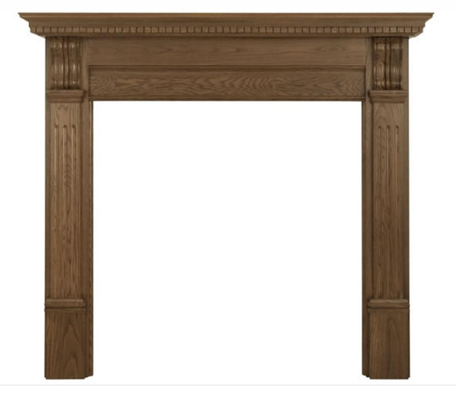 Corbel Oak Fireplace Surround
