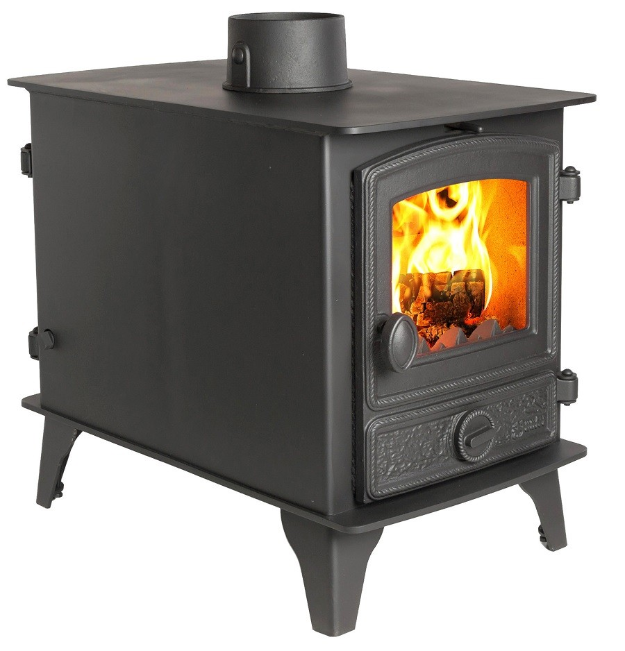 6-11KW Hawk 4 Double Sided Multi Fuel Stove