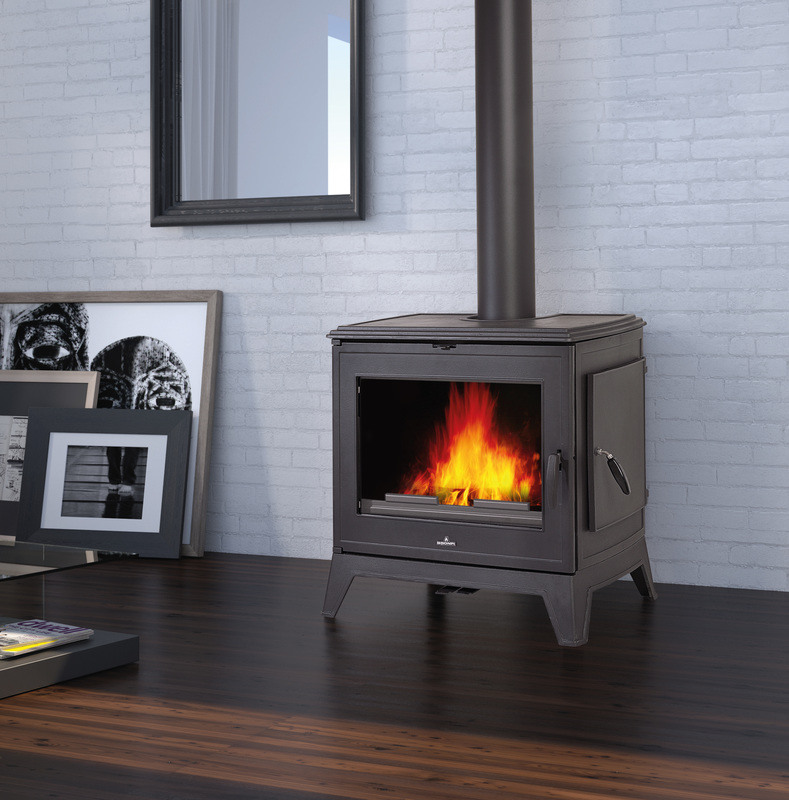 9.2kW Derby 9 Cast Iron Multi Fuel Stove