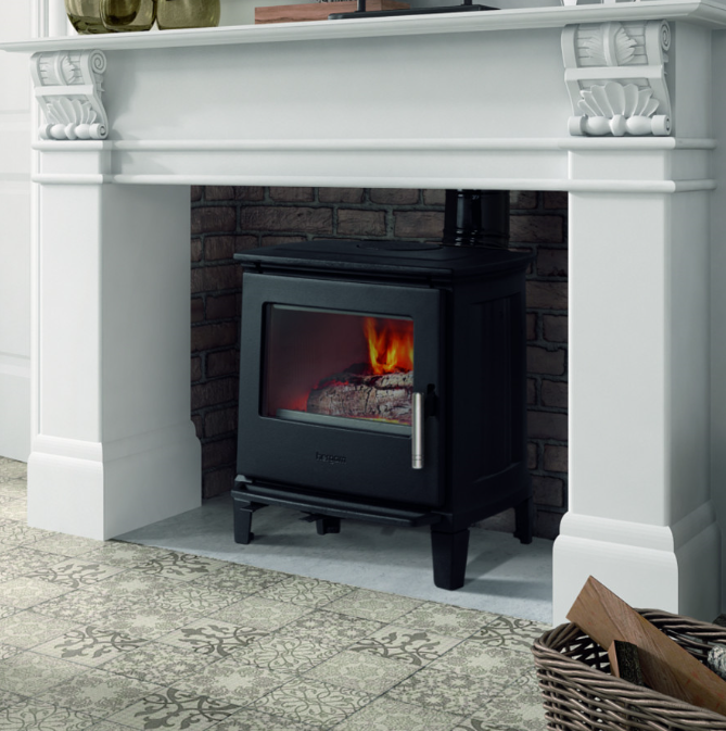 4.9kW Hergom E-30 XS Woodburning Stove Ex Display