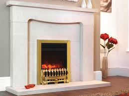 1.8KW Electriflame Insert Royale 16 Inch Brass Electric Fire