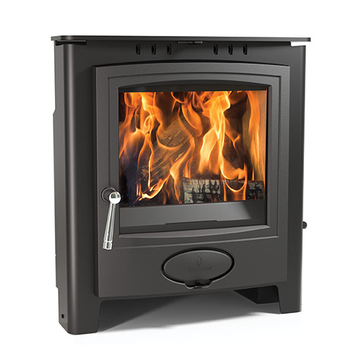 6.1KW Ecoburn Plus 7 Inset Multi Fuel and Wood Burning Stove