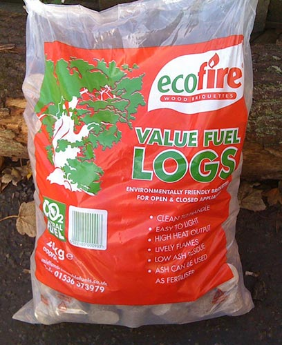 20kg Ecofire Value Wood Briquettes